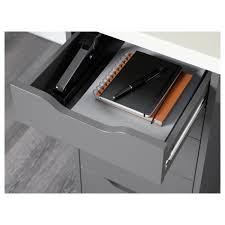 Ikea Desk Drawer Organizer linnmon alex table black brown white ikea