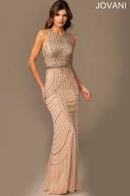 halter dress jovani 889149 evening dress halter neckline