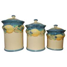 italian kitchen canisters italian metal kitchen canister set vintage storage by honestjunk