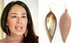 leather leaf necklace images Joanna gaines leather leaf earrings where to buy leather leaf jpg