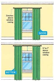 Standard Window Curtain Lengths Best 25 Curtain Length Ideas On Pinterest Window Curtain