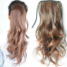 synthetic hair extensions clip in ponytails hair extension pieces synthetic hair id 7739761