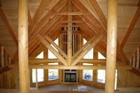 Log Home Interior Design Ideas Home Design Not Your Grandpa39s Dark Cabin The Bright And Airy