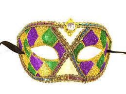 mardi gras masquerade purple green gold harlequin mardi gras masquerade mask ebay