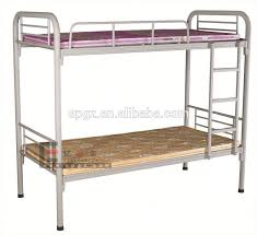 White Metal Bunk Bed Two Floor Metal Bed In White Metal Iron Bed Metal Bunk Bed Buy