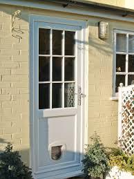 Exterior Cat Door New Front Door With Cat Flap Front Doors Design