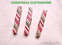 christmas clothespin craft idea