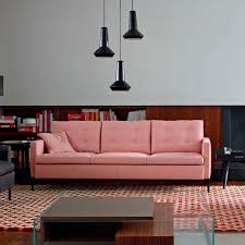 contemporary sofa leather fabric by didier gomez hudson