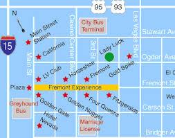 map las vegas and grand las vegas hotel downtown grand las vegas