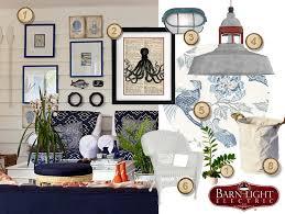 nautical inspired coastal cottage living room blog