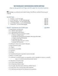 research paper outline the writing center