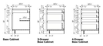 aristokraft kitchen base cabinets with all plywood construction