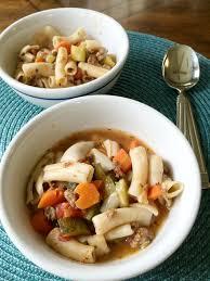 one pot gluten free italian soup