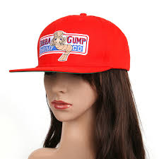 forrest gump costume 1pcs 1994 bubba gump shrimp co snapback hat forrest gump costume
