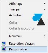 bureau windows 7 sur windows 8 1 afficher l icône ordinateur poste de travail sur le bureau