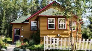 canadian rockies tiny house in canmore canada beautiful small