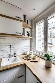cuisine appartement parisien appartement 8 un 38 m2 refait à neuf par un archi d
