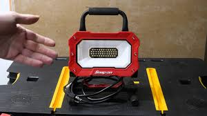 cat rechargeable led work light costco portable light comparison youtube