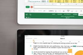 Simple Spreadsheet For Ipad Office For Ipad Vs Iwork The Battle For Tablet Productivity