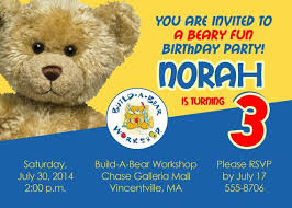 build a bear birthday barty invitations ideas u2013 bagvania free