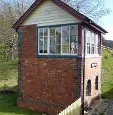 signal shed llangollen railway n wales ii llangollen to corwen