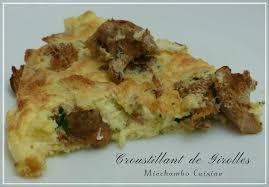 cuisine girolles croustillant de girolles miechambo cuisine