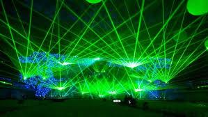 cni green 5w animation laser show system 5000mw stage disco dj
