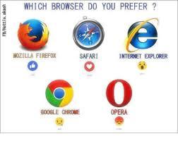 Browser Meme - 1 which browser do you prefer safari mozilla firefox internet