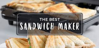 Best Sandwich Toasters With Removable Plates Best Sandwich Maker The Lively Kitchen