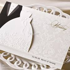 Customizable Wedding Invitations Payment Cute Clothes Style Miniature Wedding With Art Pappers