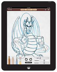 new ipad app learn to draw digital sketchbook by walter foster