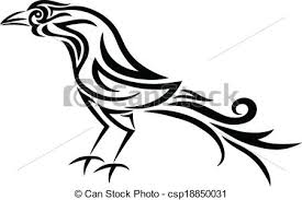 rooster tribal design vectors search clip