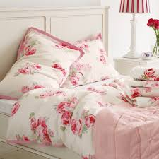couture rose cotton duvet cover in king plus pillowcases laura