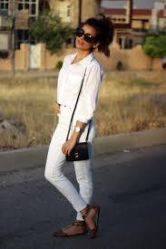 all white casual white on white sazan