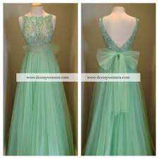 high quality floor length long ball gown backless prom