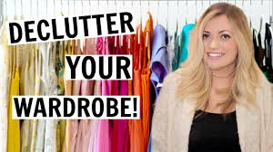 how to clean out your closet tips and tricks youtube