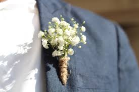 boutineer cost babys breath boutonniere search wedding ideas