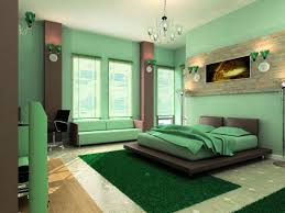 dark green walls curtain style olive green bedroom with living room with green