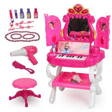 child s dressing table and chair dearie child toy set vanity dressing table toys 3 6 10