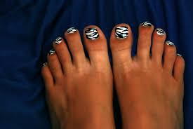 zebra toe nail designs nail designs hair styles tattoos and
