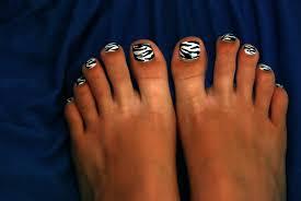 blending beautiful nails