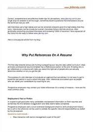 Reference Resume Examples by Should I Put References On My Resume The Best Resume