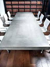 Cool Meeting Table Unique Conference Tables Concrete Conference Table