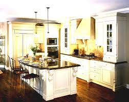 how to decorate your kitchen island white wooden kitchen island with brown counter top plus cabinet