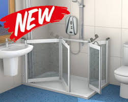 Half Shower Doors Contour Showers Uk Specialists In Disabled Showers Half Height