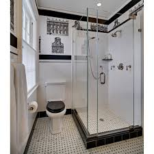 white black bathroom ideas classic black and white bath remodel bathroom design by tracey