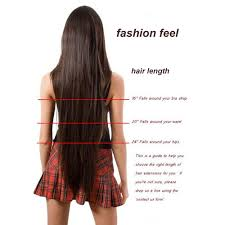 4 Piece Clip In Hair Extensions by Aliexpress Com Buy Long Clip In Hair Extensions One Piece 26