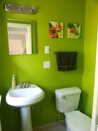 Lime Green Bathroom Accessories by Lime Green Bathroom Accessories With White Drawer Bath And Mirror