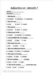 adjectives adverbs worksheets mreichert kids worksheets