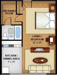 Studio Apartment Setup 400 Sq Ft Layout With A Creative Floor Plan Actual Studio